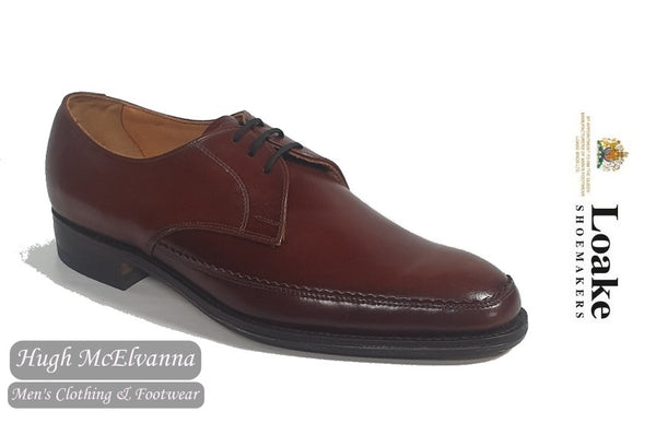 Loake Brown Laced Leather Shoe Style: 773T