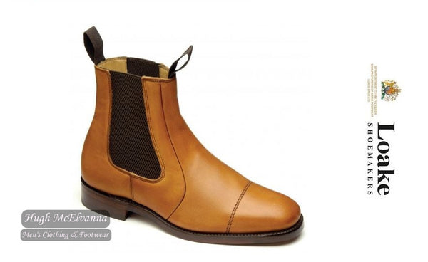 Loake Tan Leather Dealer Boot Style: Newbury
