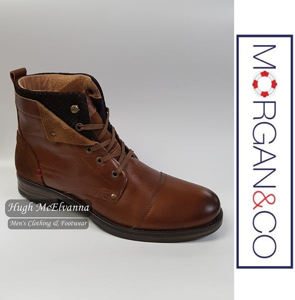 Laced Fashion Boot by Morgan & Co. Style: MGN0662 - Hugh McElvanna Menswear