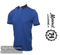 Egyptian Blue Fashion Polo Shirt by Mineral Style: PRINCESS 3