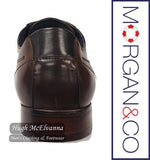 Brown Laced Shoe by Morgan & Co. Style: MGN0964