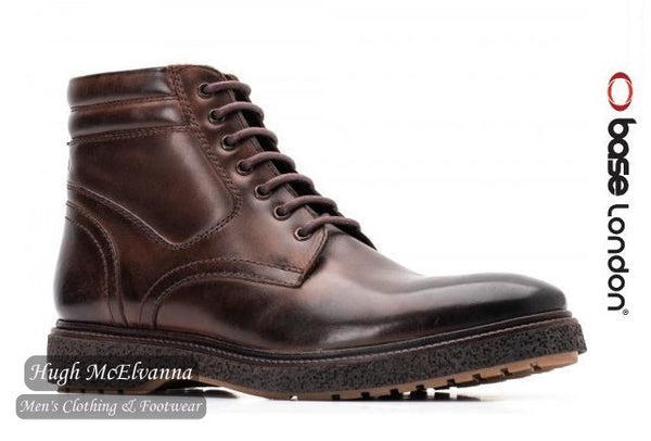 Manfred Burnished Cocoa by Base London - Hugh McElvanna Menswear