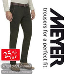 Meyer New York Fine Double Dyed Chino Trouser Style: 5572/28