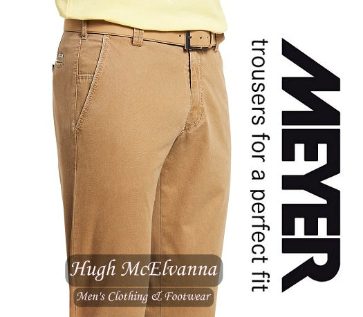 Meyer Corn NEW YORK Trousers Style: 5001/43 - Hugh McElvanna Menswear