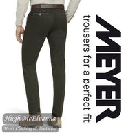 Meyer New York Fine Double Dyed Chino Trouser Style: 5572/28 - Hugh McElvanna Menswear