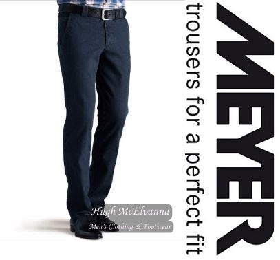 Meyer Denim Trouser Style: Roma 629/20 - Hugh McElvanna Menswear