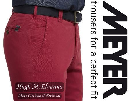 Meyer Berry ROMA Trousers Style: 3001/56 - Hugh McElvanna Menswear