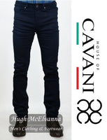 SLIM FIT Navy Stretch Jean by House of CAVANI  Style: MILANO
