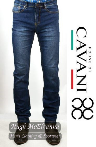 SLIM FIT Stonewashed Stretch Jean by House Of Cavani Style: MILANO