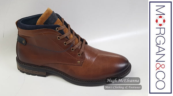 Morgan & Co Laced Boot Style: MGN0842 - Hugh McElvanna Menswear