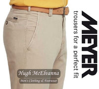 Meyer Cream NEW YORK Trouser Style: 5001/33 - Hugh McElvanna Menswear
