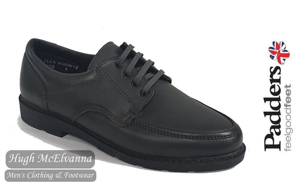Padders Grey Laced Casual Shoe Style: FLEX