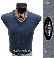 Lambswool V-Neck by Peter Gribby Style: PK17200 ( 4 Colour Options Available )