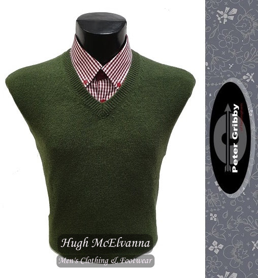Lambswool V-Neck by Peter Gribby Style: P9000 ( 6 Colour Options Available )