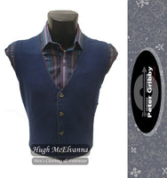 Lambswool Waistcoat by Peter Gribby Style: PK17205  ( 2 Colour Options Available ) - Hugh McElvanna Menswear