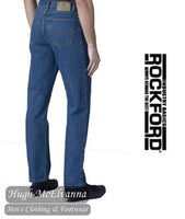 Carlos Stonewash Comfort Fit Stretch Jeans by Rockford