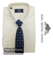 Cream Shirt & Tie Set by Rael Brook Style: 8027