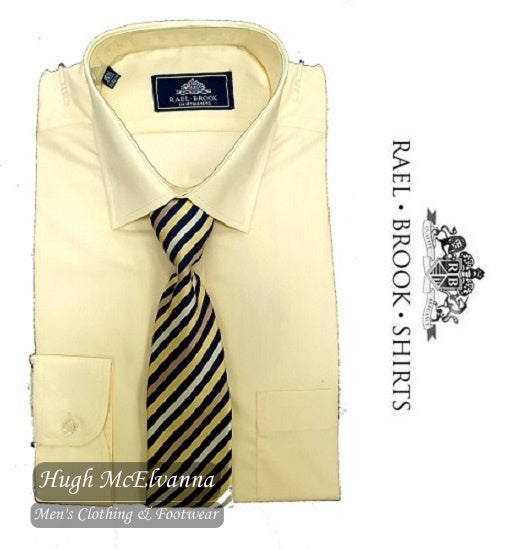 Lemon Shirt & Tie Set by Rael Brook Style: 8029
