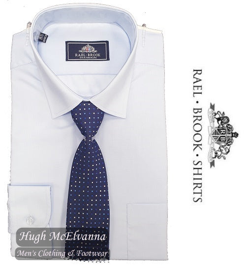 Sky Blue Shirt & Tie Set by Rael Brook Style: 8037