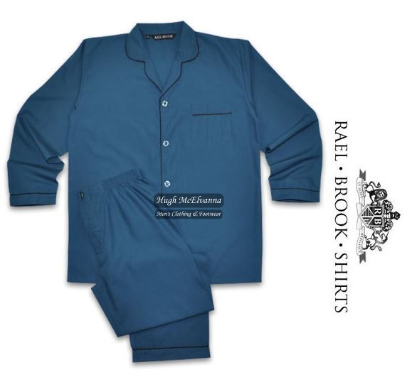 Pyjamas Set by Rael Brook ( 5 Colour Options Available To Size 4XL ) - Hugh McElvanna Menswear