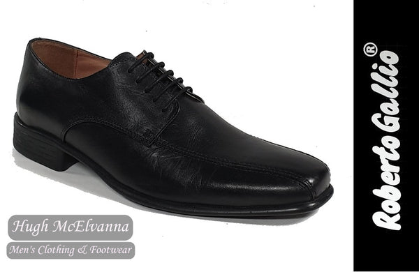 Reberto Gallio Black Fashion Laced Shoe Style: SH211