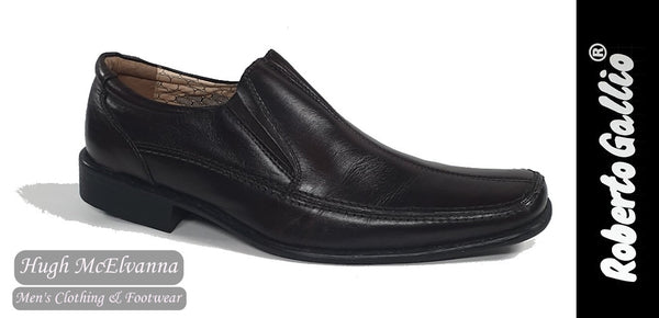 Reberto Gallio Brown Fashion Slip On Shoe Style: SH2051