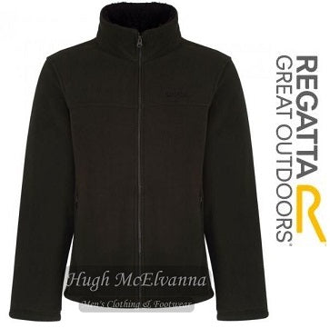 Regatta Fleece with Burg Lining Dk. Green - Hugh McElvanna Menswear