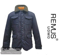 Remus Uomo Jacket with removable fur collar Style: 80139/27