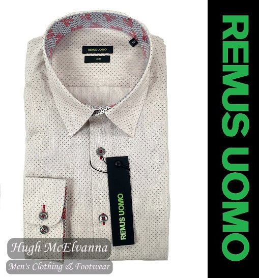 Slim Fit Grey Shirt by Remus Uomo Style: 17462/04