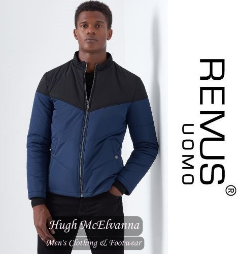Remus Uomo Fashion Puffa Jacket Style: 80253/27