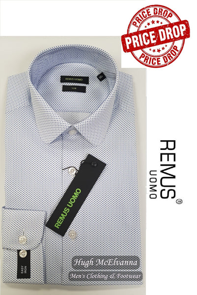 SLIM FIT Penny Round Collar by Remus Uomo