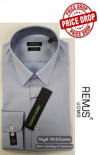 Slim Fit Shirt by Remus Uomo Style: 17659 - 2 Colour Options Available