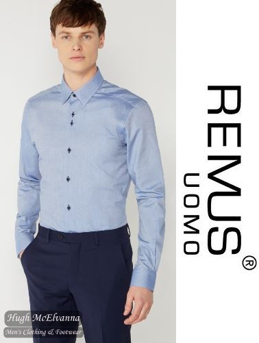Slim Fit Shirt by Remus Uomo Style: 17496/23