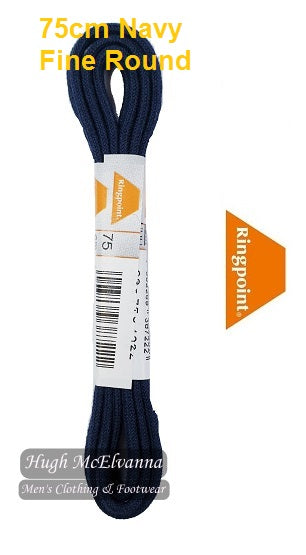 75cm Navy Fine Round Laced by Ringpoint Style: RP30-75