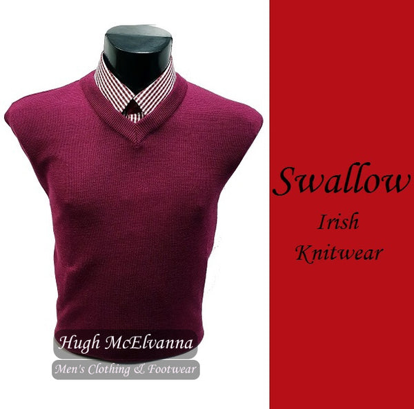 Mulberry V-Neck Pullover by Swallow Style: 10GG