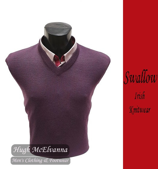 Heather V-Neck Pullover by Swallow Style: 10GG