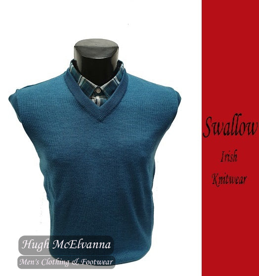 Ocean V-Neck Pullover by Swallow Style: 10GG