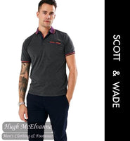 Scott & Wade Fashion Polo Style: LLOYD - 2 Colour Options Available