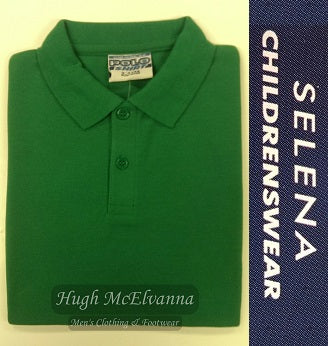 Emerald Green Polo Shirt - Hugh McElvanna Menswear