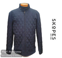 'UPTON' Navy Casual Coat by Skopes Style MM5561