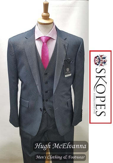 Skopes EDGAR Steel Grey Suit Jacket