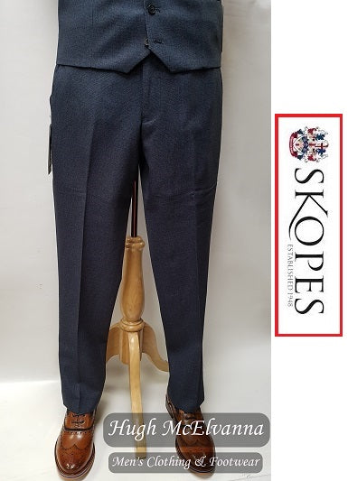 Skopes HARCOURT Suit Trouser : Blue