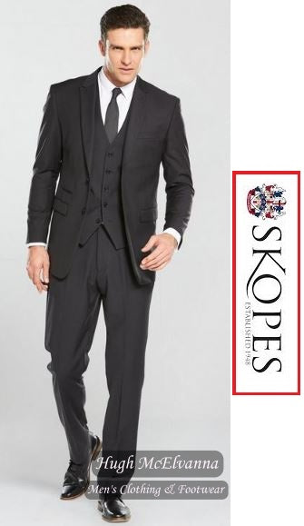 Skopes MADRID Charcoal Suit Jacket