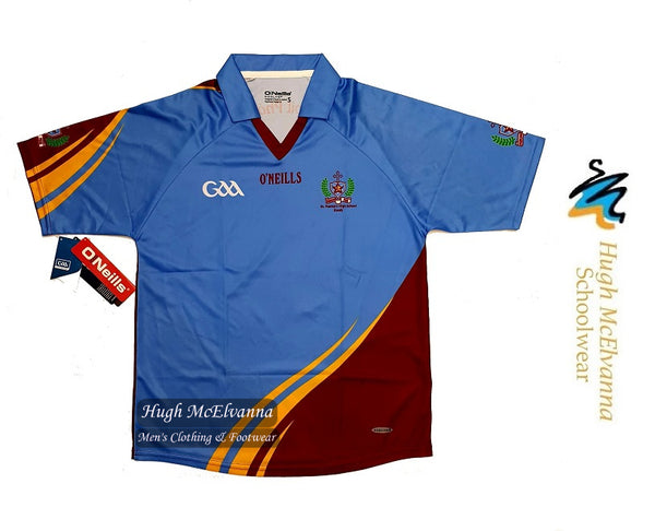 ****REDUCED TO CLEAR****  Boy's St. Patrick's P.E. Jersey - Hugh McElvanna Menswear