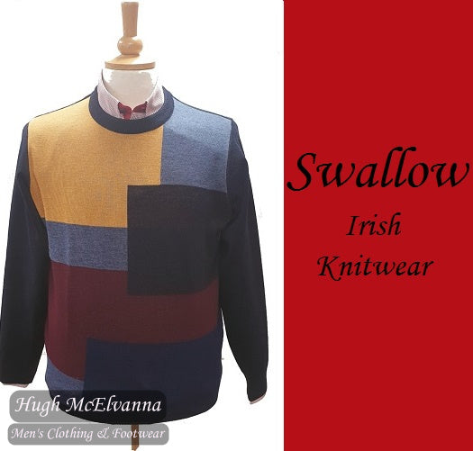 Swallow Navy Round Neck Design Pullover Style: AW20.02RN PALCO
