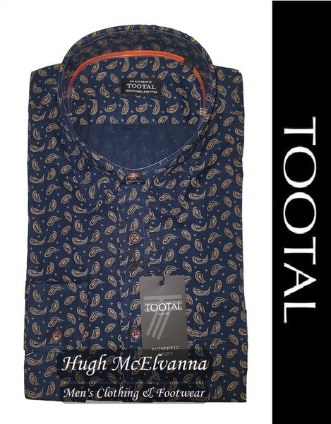 Fashion Paisley Print Shirt by Tootal Style: TL7213/733