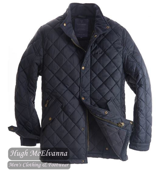 Fleece Lined Quilted Jacket by Vedoneire Style: 3130