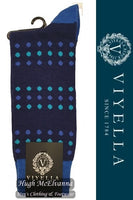 Viyella Dots Wool Socks Style: VY9196S#2 - 3 Colour Options Available