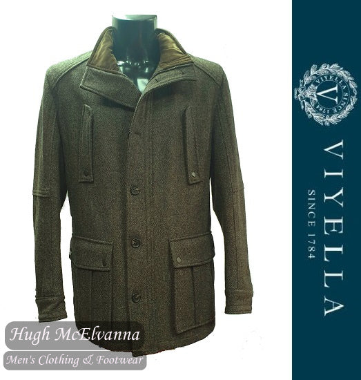 Viyella Pure Wool Country Coat