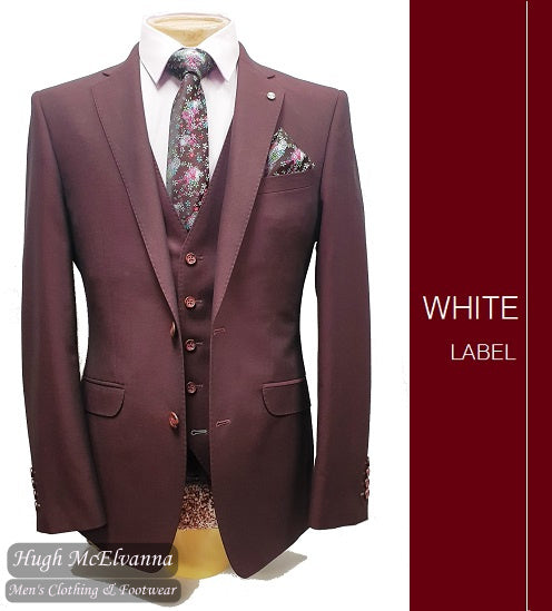 Jasper Slim Fit Fashion 3Pc. Suit by White Label Style: 5341